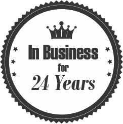 In Business for 24 years